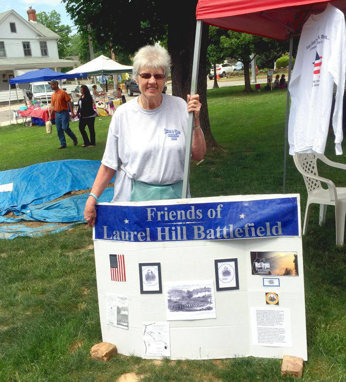 Battle of Laurel Hill booth 2015