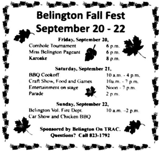 Belington Fall Festival 2013