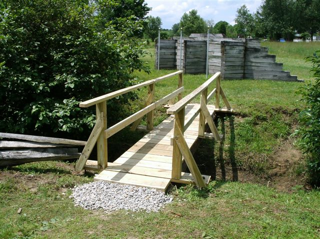 Laurel Hill Battlefield footbridge